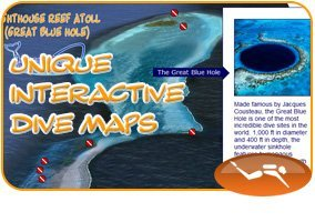 Explore our Unique Interactive Dive Maps