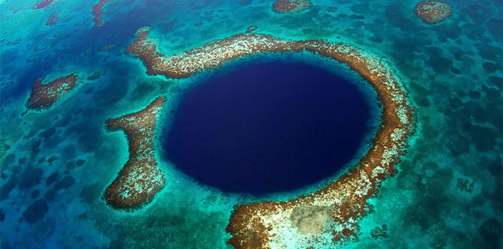 The Great Blue Hole Belize - Ambergris Divers
