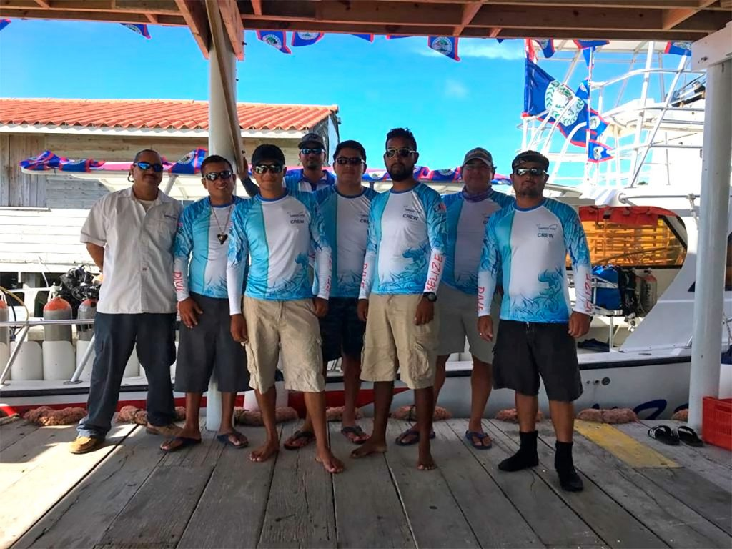 Ambergris Divers Staff